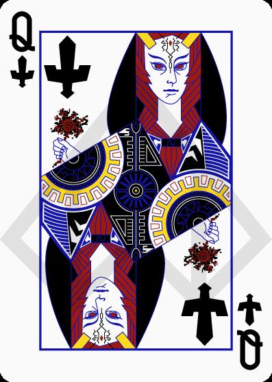 Cartas de póquer de Zelda 8