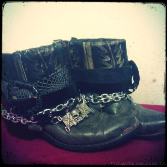 Jen Ells Revenge DIY cowboy belt boots.jpg_effected