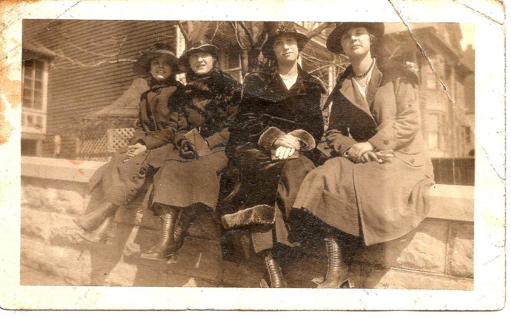 Fashions circa 1920--Shamokin, PA