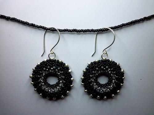 OTTBS Earrings - Night