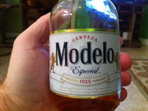 Cerveza Modelo Especial @Home