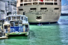 Rhapsody of the SEAS NaSSaU HDR (H@ppyfacE) Tags: city newzealand wallpaper sky green art colors architecture canon landscape fun photography photo spring downtown photos dramatic auckland 1855 hdr rwc photomatix rhapsodyoftheseas 3exp hdrphotography tophdr hdrphotos hdrimages hdrpictures hdrwallpaper eos450 1855es hppyfaceon