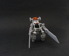 Mark IV Exo-suit. (Lego Junkie.) Tags: lego mark contest suit network iv mech exo lcn