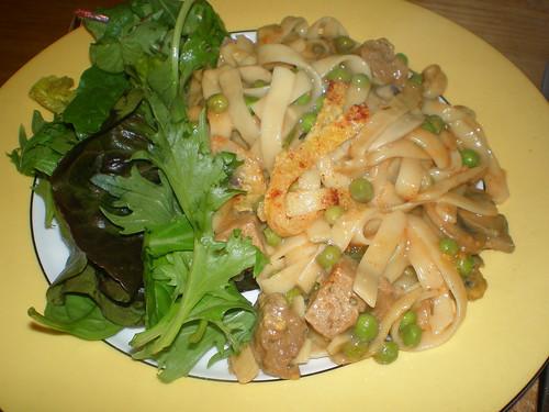 Seitan Noodle Casserole