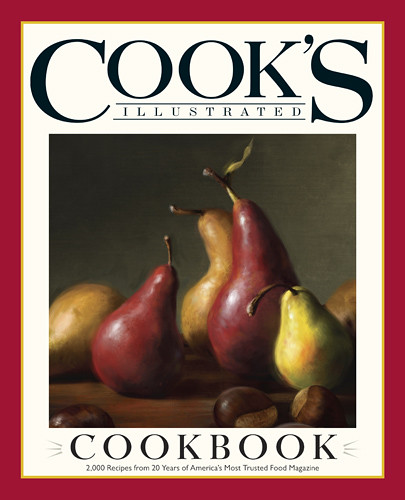 Cook's Illustrated Cookbook Giveaway