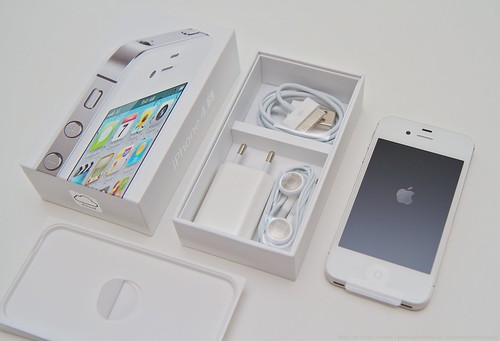 iPhone 4S Packung & Packungsinhalt