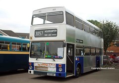 3057 in preservation (MCW1987) Tags: travel west museum transport mk2 preserved manor aston midlands metrobus twm mcw 3057 wmt amrtm mk2a f57xof