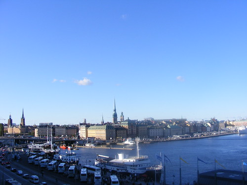 Vista general de Gamla Stan.