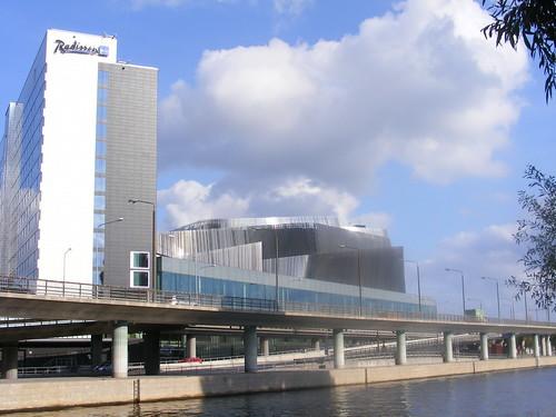Edificios modernos del centro