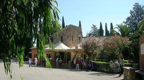 Entrada a Catacumbas de San Calixto
