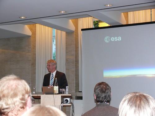 """Thomas Reiter, Verleihung des """"Stein im Brett"""""""