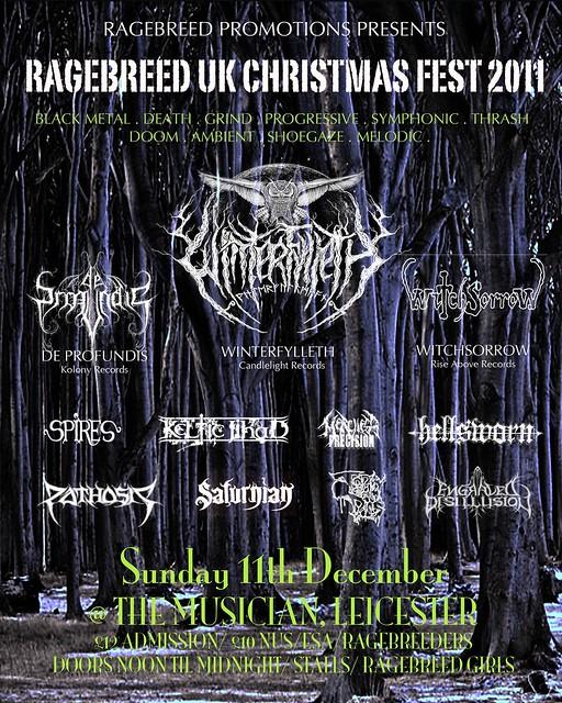 Ragebreed festival metal gigs gig listings
