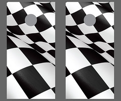 Racing Cornhole Boards