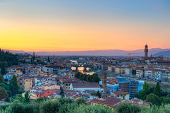 Florence at Sunset (todd landry photography) Tags: sunset italy florence nikon cityscape hdr d90