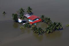 [フリー画像素材] 社会・環境, 災害, 洪水, 風景 - タイ ID:201110292000