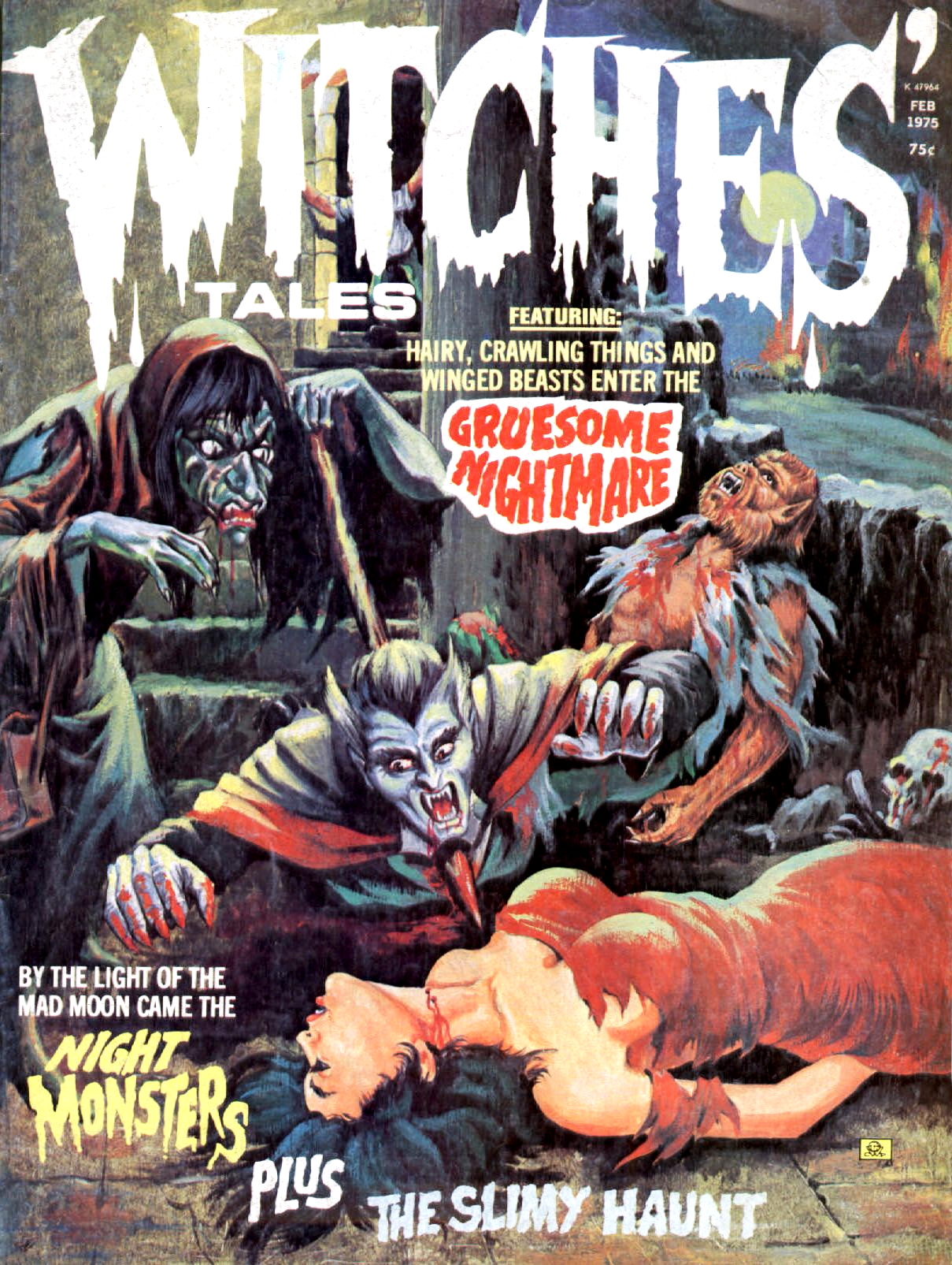 Witches' Tales Vol. 7 #1 (Eerie Publications 1975)
