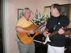 "George & Mark Jammin' • <a style=""font-size:0.8em;"" href=""http://www.flickr.com/photos/69122677@N02/6285358956/"" target=""_blank"">View on Flickr</a>"