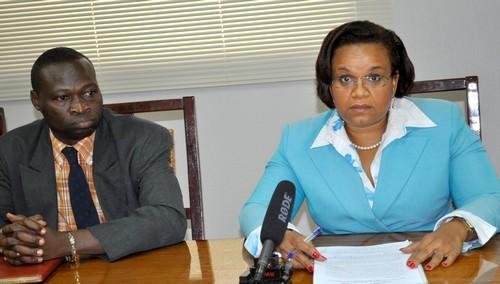 Conférence de presse sur l'INP-HB