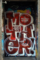 Word to Mother (Alex Ellison) Tags: door urban streetart viktor graffiti tag sickboy east doorway drawer eastlondon wtm stolenspace ronzo wordtomother w2m