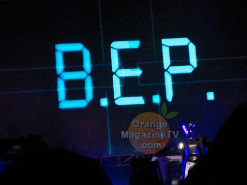 Finally, the Black Eyed Peas!