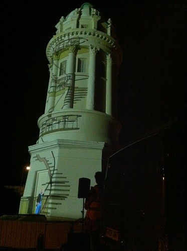 Pepperpot, White Night Brighton 2011: the Tower of Dreams