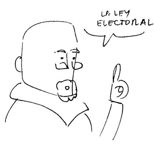 cambiar la ley electoral