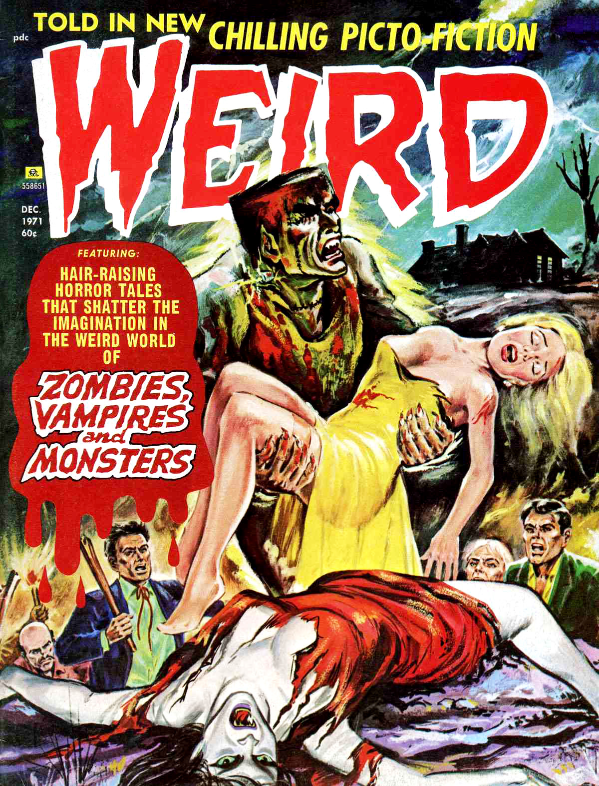 Weird Vol. 05 #6 (Eerie Publications, 1971)