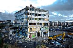 New times (danielskantze) Tags: street house building broken architecture demolition future wreck hus fotosondag fs111030
