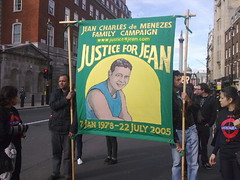 Jean Charles de-Menezes family and supporters