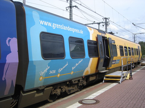 Bad Bentheim: Grensland Express Train
