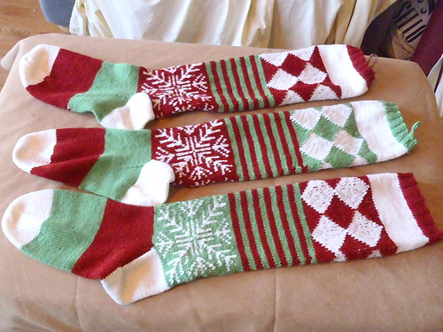 Completed Stockings!