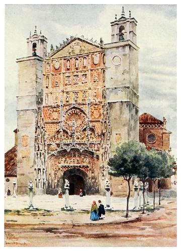 004-Catedral de San Pablo en Valladolid-Cathedral cities of Spain 1909- William Wiehe Collins