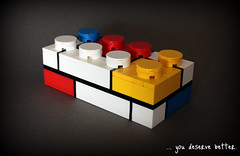 Brick Three - Mondrian (buriedbybricks) Tags: lego mondrian pietmondrian coleblaq brickthree