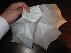 6 Point Star Fractal #13 (georigami) Tags: paper origami papel papiroflexia origamiforum