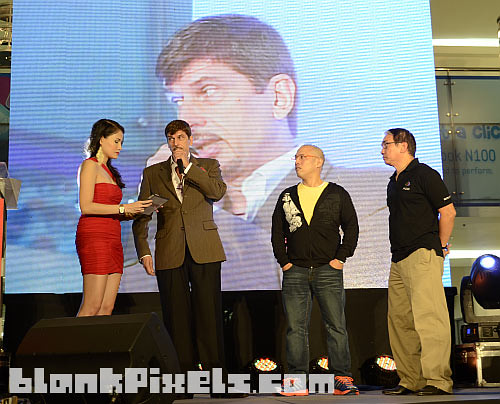 From left - Host Honey with special guests Per-Andre Hoffman, Jo Avila, and Jun Miranda