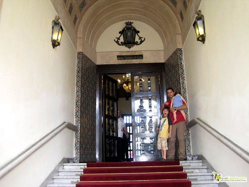 Grand Entrance of Hotel Nacional Cuba