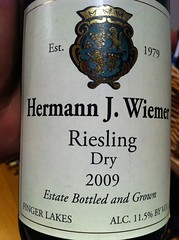 2009 Hermann Wiemer Dry Riesling