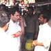 Rahul Gandhi taking Tea on a street dhaba, Sant Ravidas Nagar (1)