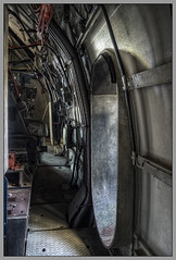 (The New Motive Power) Tags: door shadow test 3 west abandoned industrial quiet lock steel empty aircraft air jet engine royal cell canond60 testing gas machinery deck research national urbanexploration walkway chamber fleet facility heavy exploration derelict establishment deserted turbine hdr obsolete ue dormant topsecret urbex heavyduty ngte pyestock cell3west