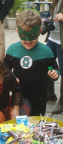 Isaac at Halloween