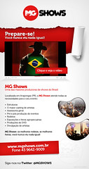 MG Shows (Mailing Novembro/2011) (codare) Tags: newsletter mailing emailmarketing codare mgshows