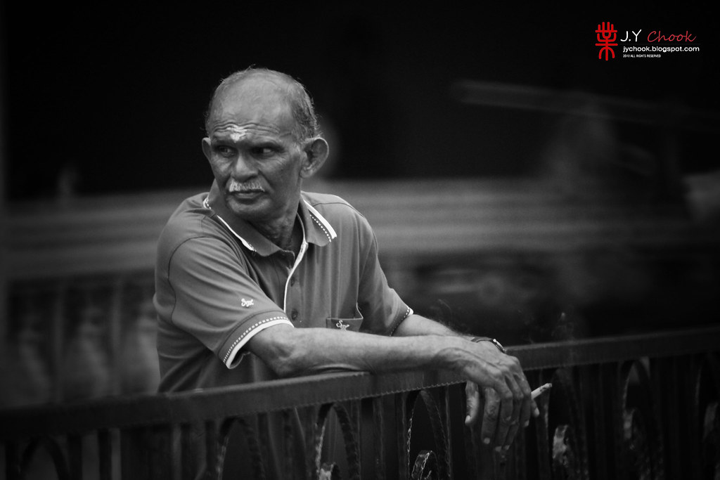 Indian Uncle at Batu Caves