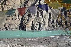 Prayer flags to ward off evil spirits (cvsrangasai) Tags: india mountains landscapes leh ladakh highaltitude scaresvegetation
