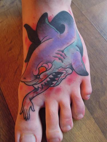 Shark foot