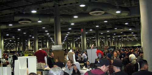 The Crowd at Comikaze Expo 2011