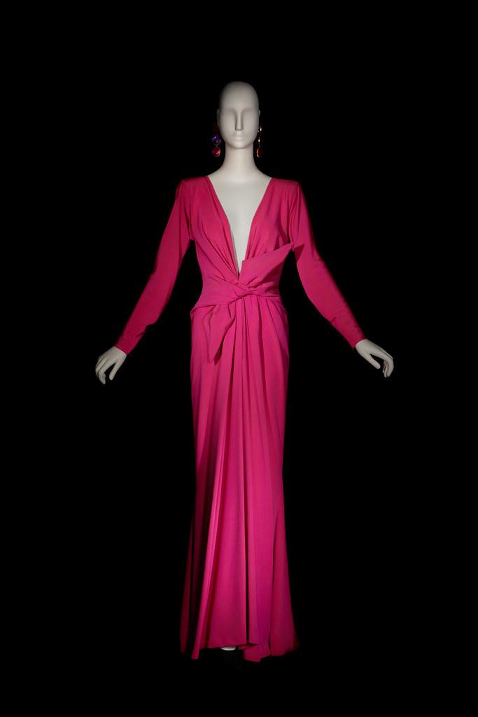 4-Vestido largo de noche