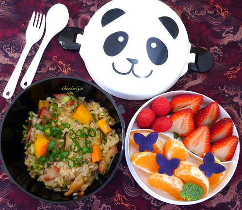 Sticky Rice Panda Bowl Bento by sherimiya ♥