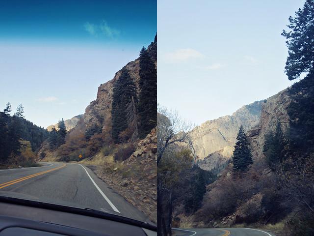 Salt Lake City canyon diptych 2