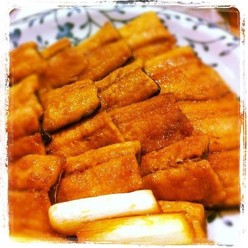 秋刀魚の蒲焼。