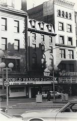 Washington Street, west to Kneeland Street (Boston Landmarks/Archaeology) Tags: boston centralbusinessdistrict washingtonstreet bostonphotos kneelandstreet historicboston bostonlandmarkscommission